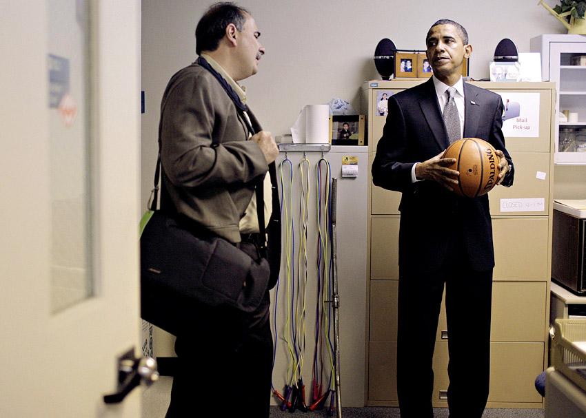 David Axelrod, Obama