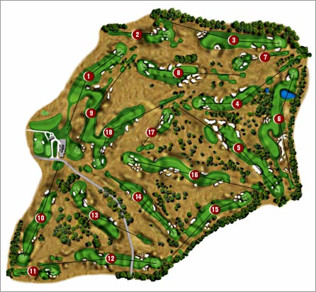ESPNcom GOLFUSOPEN Coursemap - Us open course map