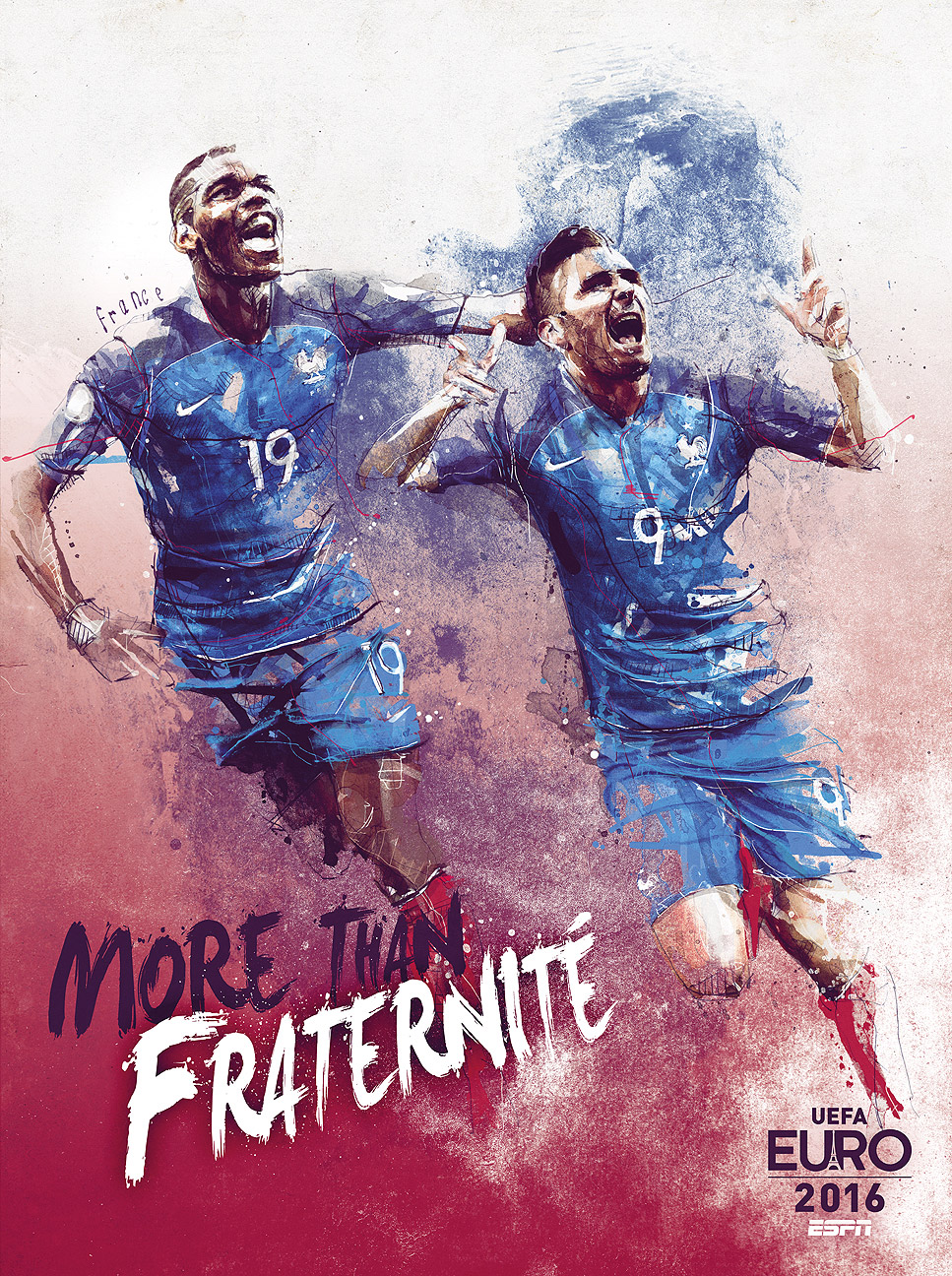 euro 2016 team posters