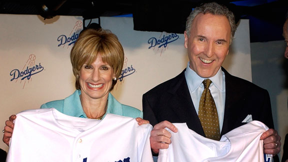 frank mccourt dodgers. Jamie and Frank McCourt#39;s
