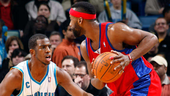 Chris Paul and Baron Davis