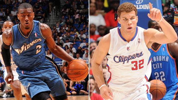 Blake Griffin and John Wall