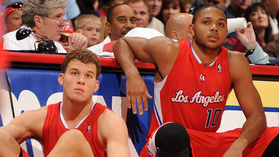 Blake Griffin and Eric Gordon