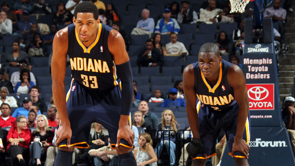 Darren Collison and Danny Granger