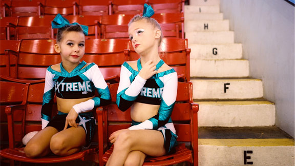 Tierney Gearon for ESPN The Magazine Isabella (left) and Amelia are ...