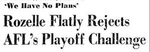 Rozelle Headline