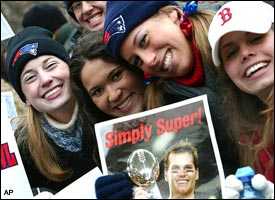 Tom Brady fans