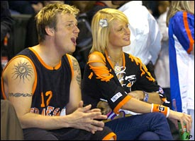 Nick Carter & Paris Hilton