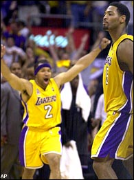 Derek Fisher & Robert Horry