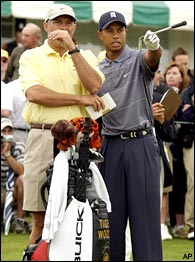 Stevie Williams & Tiger Woods