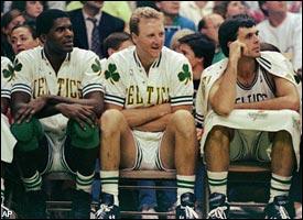 Robert Parish, Larry Bird & Kevin McHale