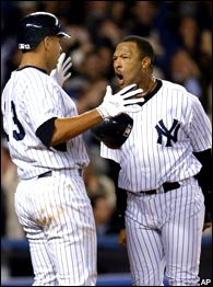 Alex Rodriguez & Gary Sheffield