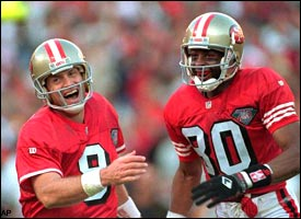 Steve Young & Jerry Rice