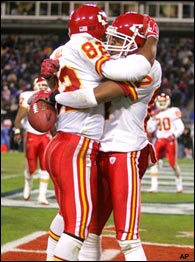 Dante Hall & Eddie Kennison