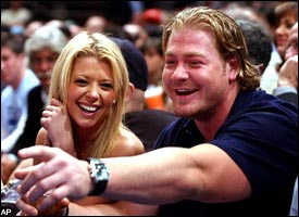 Tara Reid & Jeremy Shockey