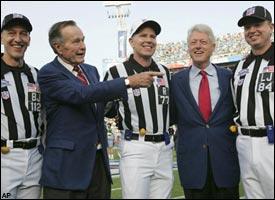 George Bush & Bill Clinton