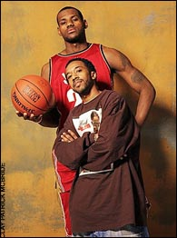 LeBron James & Scoop Jackson