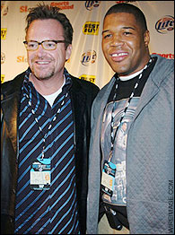 Tom Arnold, Michael Strahan