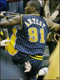 a08e60fcc ron artest indiana pacers jersey