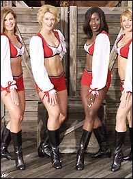 Bucs Cheerleaders