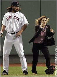 Johnny Damon, Drew Barrymore