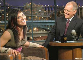 Tara Dakides, David Letterman