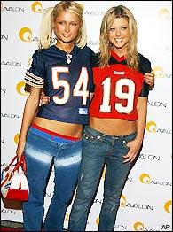 Paris Hilton, Tara Reid