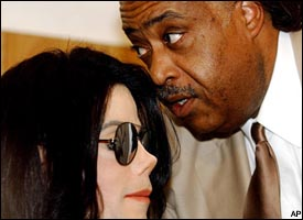 Michael Jackson, Rev. Al Sharpton