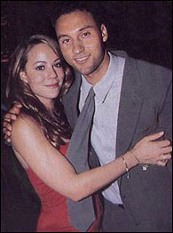 Derek Jeter, Mariah Carey