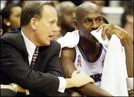 Michael Jordan, Doug Collins