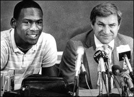 Michael Jordan, Dean Smith