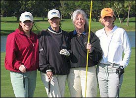 Golf girls