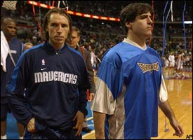 Mark Cuban, Steve Nash