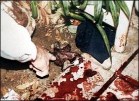 Bundy Dr. crime scene
