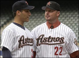Andy Pettitte, Roger Clemens