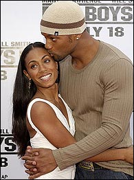 Jada Pinkett Smith was more than thrilled with her hubby's nude scene in