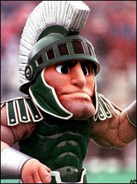 Michigan State mascot