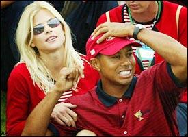 Elin Nordgren, Tiger Woods