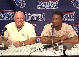 Floyd Reese and Steve McNair