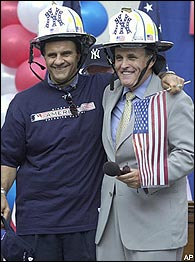 Joe Torre, Rudy Giuliani