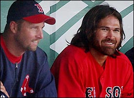 Tim Wakefield, Johnny Damon
