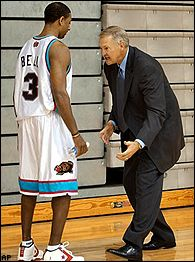 Jerry West and Troy Bell
