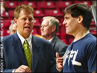 Danny Ainge and Mark Cuban