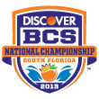BCS National Championship Bowl