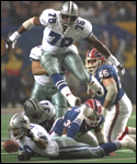 Thurman Thomas fumble