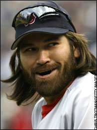 Johnny damon haircut