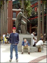 Willie Mays statue