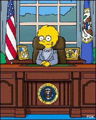 Lisa as president
