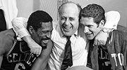 Bill Russell, Red Auerbach, John Havlicek