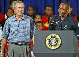 Pres. Bush/Lynn Swann